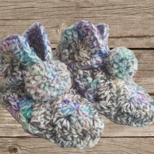 Chaussons multicolore adulte