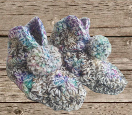 Chaussons multicolore adulte, O'drey créa