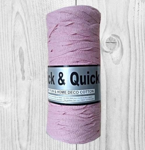 trapilho Thick-Quick, fil en coton rose, vente de laine , pelote de laine, O'drey créa