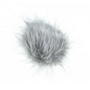 Pompon fausse fourrure flanelle couleur flanelle, vente de laine, mercerie, O'drey créa