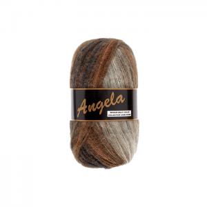 Angela multicolor gris, marron, beige, O'drey créa et ses petites pelotes