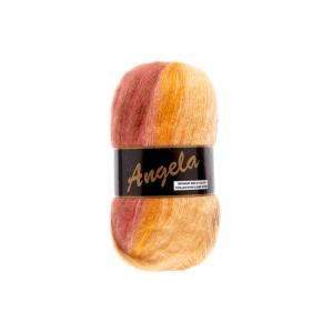 La Pelote laine Angela multicolor marron, beige , orange, O'drey créa et ses petites pelotes