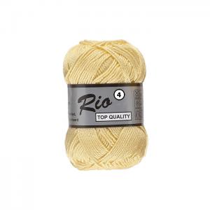 Pelote RIO 4 jaune pâle, O'drey créa et ses petites pelotes